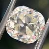 3.20ct Antique Cushion Cut Diamond 8