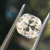 3.20ct Antique Cushion Cut Diamond 11