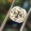 3.20ct Antique Cushion Cut Diamond 17
