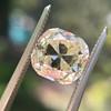 3.20ct Antique Cushion Cut Diamond 30
