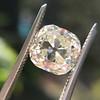 3.20ct Antique Cushion Cut Diamond 31