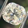 3.20ct Antique Cushion Cut Diamond 12