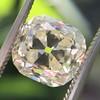 3.20ct Antique Cushion Cut Diamond 14