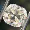 3.20ct Antique Cushion Cut Diamond 9