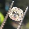 3.20ct Antique Cushion Cut Diamond 4