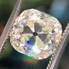 3.20ct Antique Cushion Cut Diamond 0