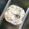 3.20ct Antique Cushion Cut Diamond 5