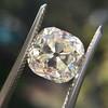 3.20ct Antique Cushion Cut Diamond 6