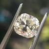 3.20ct Antique Cushion Cut Diamond 25
