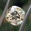 3.20ct Antique Cushion Cut Diamond, GIA N VS2 32