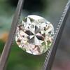 3.20ct Antique Cushion Cut Diamond, GIA N VS2 30