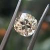 3.20ct Antique Cushion Cut Diamond, GIA N VS2 26