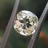 3.20ct Antique Cushion Cut Diamond, GIA N VS2 9