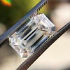 3.23ct Emerald Cut Diamond, GIA I VVS2 1