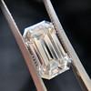 3.23ct Emerald Cut Diamond, GIA I VVS2 18
