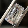3.23ct Emerald Cut Diamond, GIA I VVS2 19
