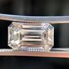 3.23ct Emerald Cut Diamond, GIA I VVS2 2