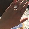 3.39ct Old European Cut Diamond GIA Q-R, VS 9