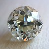 3.39ct Old European Cut Diamond GIA Q-R, VS 3