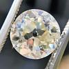 3.39ct Old European Cut Diamond GIA Q-R, VS 1