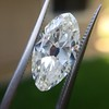 3.29ct Antique Marquise Cut Diamond GIA I VS1 26