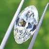 3.29ct Antique Marquise Cut Diamond GIA I VS1 4