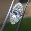 3.29ct Antique Marquise Cut Diamond GIA I VS1 24