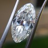 3.29ct Antique Marquise Cut Diamond GIA I VS1 20