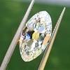 3.29ct Antique Marquise Cut Diamond GIA I VS1 0