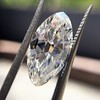 3.29ct Antique Marquise Cut Diamond GIA I VS1 19