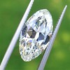 3.29ct Antique Marquise Cut Diamond GIA I VS1 33