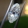 3.29ct Antique Marquise Cut Diamond GIA I VS1 23