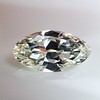 3.29ct Antique Marquise Cut Diamond GIA I VS1 11