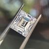 3.30ct Carre Cut Diamond GIA HVVS2 13