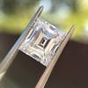 3.30ct Carre Cut Diamond GIA HVVS2 15