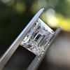 3.30ct Carre Cut Diamond GIA HVVS2 10