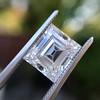 3.30ct Carre Cut Diamond GIA HVVS2 4