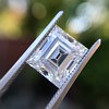 3.30ct Carre Cut Diamond GIA HVVS2 8
