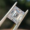 3.30ct Carre Cut Diamond GIA HVVS2 7