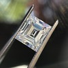 3.30ct Carre Cut Diamond GIA HVVS2 18