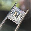 3.30ct Carre Cut Diamond GIA HVVS2 9