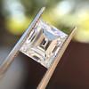 3.30ct Carre Cut Diamond GIA HVVS2 5