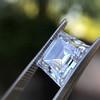 3.30ct Carre Cut Diamond GIA HVVS2 14