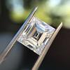 3.30ct Carre Cut Diamond GIA HVVS2 12