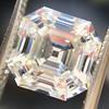 3.44ct Antique Asscher Cut Diamond GIA H VS2 10