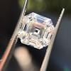 3.44ct Antique Asscher Cut Diamond GIA H VS2 15