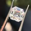 3.44ct Antique Asscher Cut Diamond GIA H VS2 13