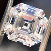 3.44ct Antique Asscher Cut Diamond GIA H VS2 24