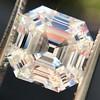 3.44ct Antique Asscher Cut Diamond GIA H VS2 2
