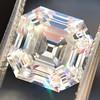 3.44ct Antique Asscher Cut Diamond GIA H VS2 12